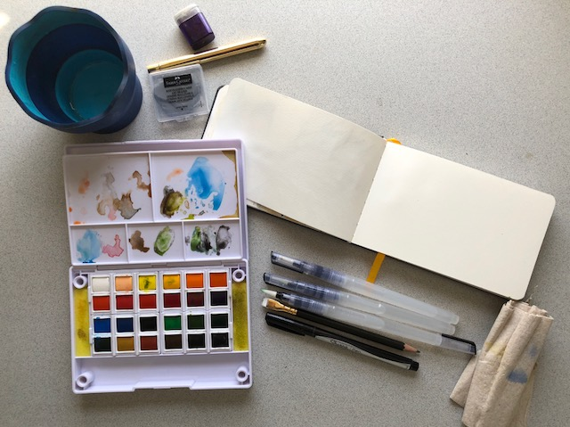 Portable Watercolor Kit